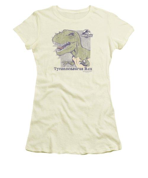 Jurassic Park - Retro Rex Women's T-Shirt (Junior Cut) by Brand A