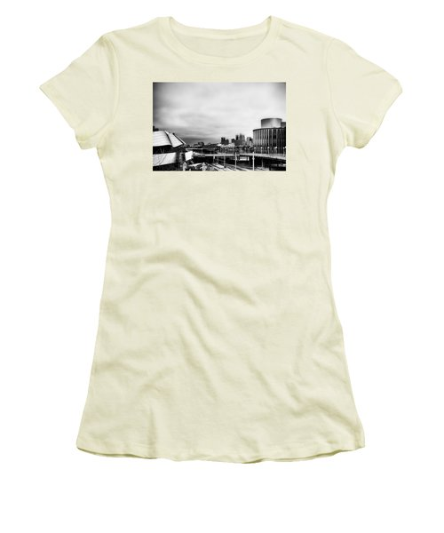Minneapolis From The University Of Minnesota Women's T-Shirt (Junior Cut) by Tom Gort