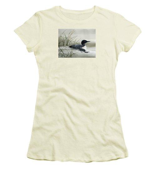 Nature's Serenity Women's T-Shirt (Junior Cut) by James Williamson