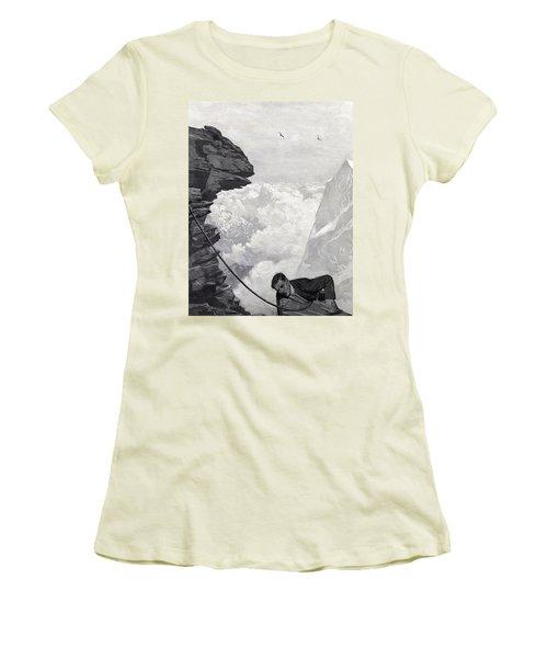 Nearly There Women's T-Shirt (Junior Cut) by Arthur Herbert Buckland
