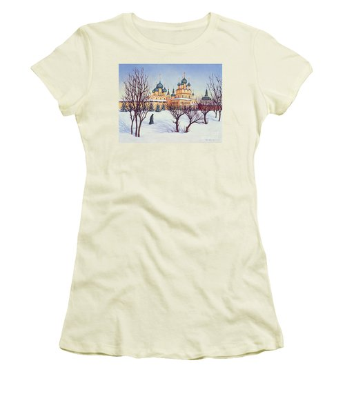 Russian Winter Women's T-Shirt (Junior Cut) by Tilly Willis