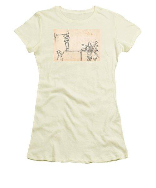 The Captain Women's T-Shirt (Junior Cut) by H James Hoff