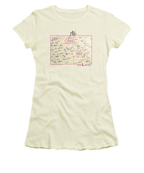 The L Word - Chart Women's T-Shirt (Junior Cut) by Brand A