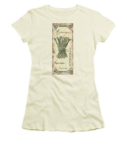 Vintage Vegetables 1 Women's T-Shirt (Junior Cut) by Debbie DeWitt