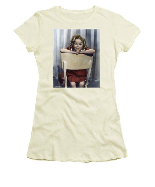 Shirley Temple (1928- ) Women's T-Shirt (Junior Cut) by Granger