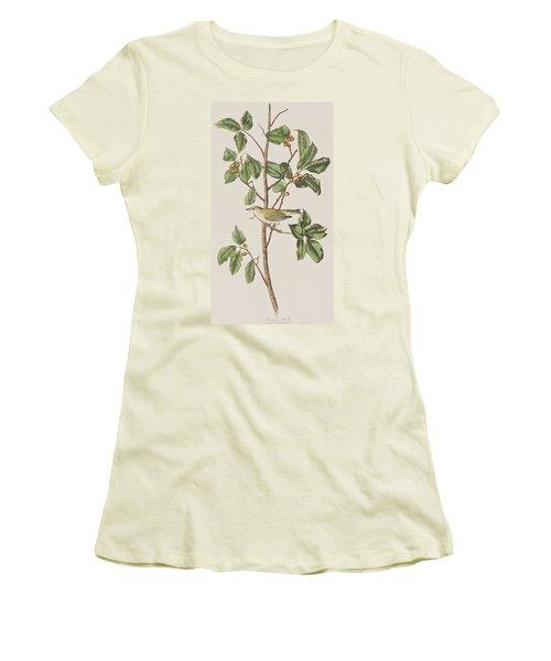 Tennessee Warbler Women's T-Shirt (Junior Cut) by John James Audubon