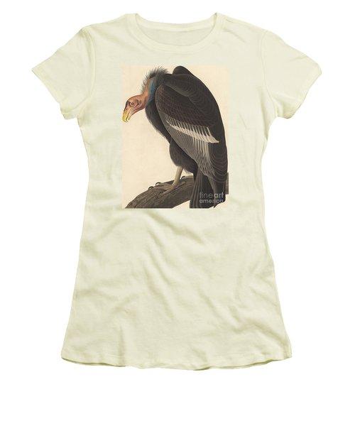Californian Vulture Women's T-Shirt (Junior Cut) by John James Audubon