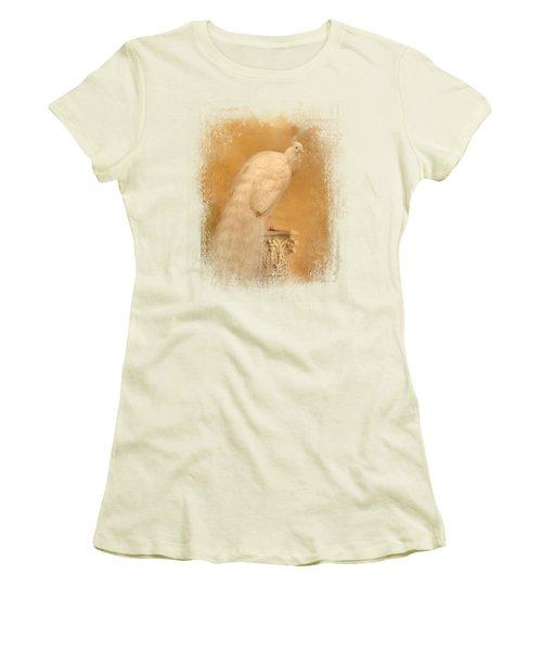 Elegance In Gold Women's T-Shirt (Junior Cut) by Jai Johnson