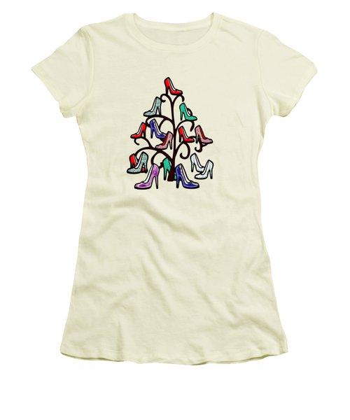 High Heels Tree Women's T-Shirt (Junior Cut) by Anastasiya Malakhova