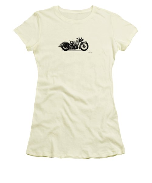 Indian Sport Scout 1939  Women's T-Shirt (Junior Cut) by Mark Rogan