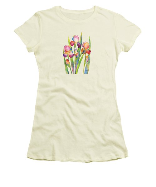 Iris Elegance Women's T-Shirt (Junior Cut) by Hailey E Herrera