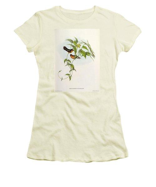 Leucippus Fallax Women's T-Shirt (Junior Cut) by John Gould