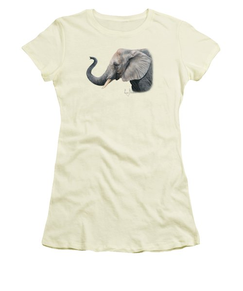 Lucky Women's T-Shirt (Junior Cut) by Lucie Bilodeau