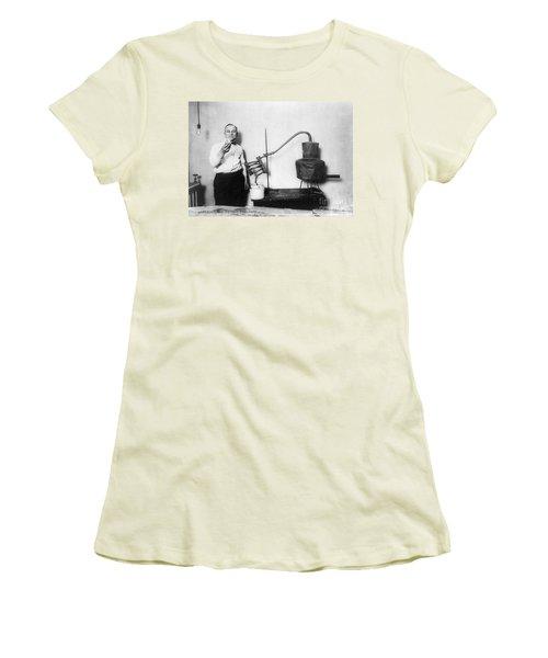 Moonshine Distillery, 1920s Women's T-Shirt (Junior Cut) by Granger