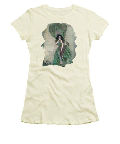 Mysterieuse Women's T-Shirt (Junior Cut) by Terry Fleckney