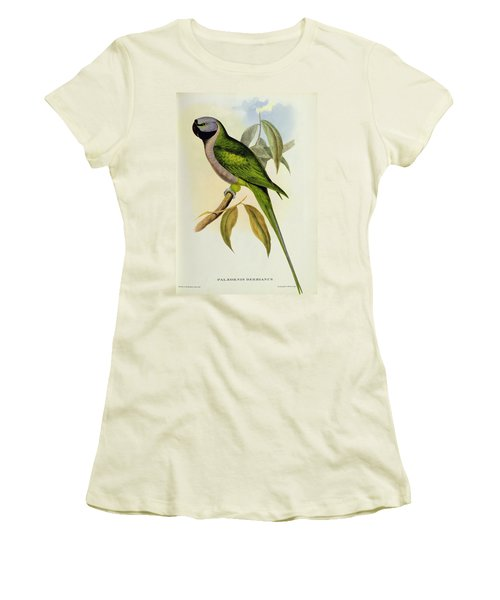 Parakeet Women's T-Shirt (Junior Cut) by John Gould
