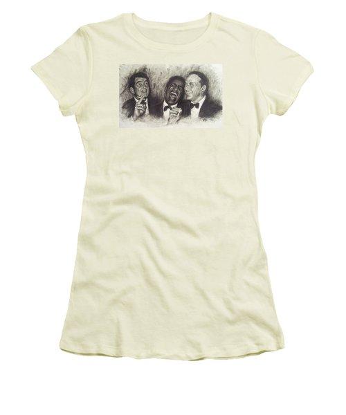 Rat Pack Women's T-Shirt (Junior Cut) by Cynthia Campbell