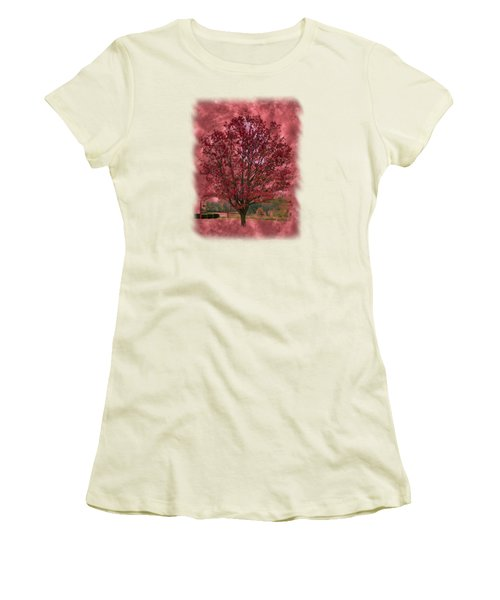 Seeing Red 2 Women's T-Shirt (Junior Cut) by John M Bailey