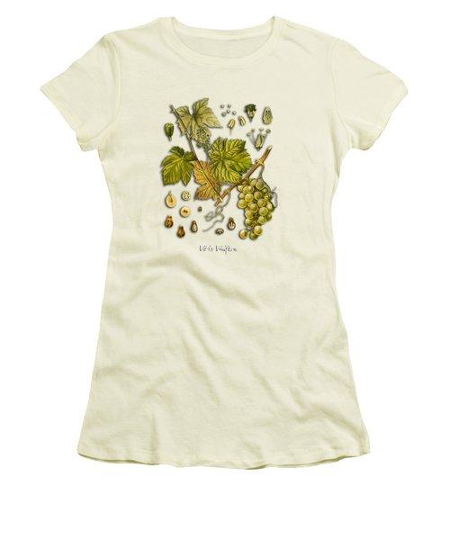 Vitis Vinifera Women's T-Shirt (Junior Cut) by Justyna JBJart