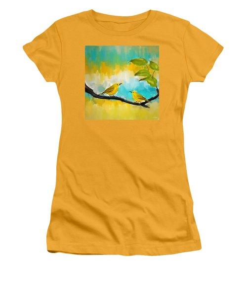 Companionship Women's T-Shirt (Junior Cut) by Lourry Legarde
