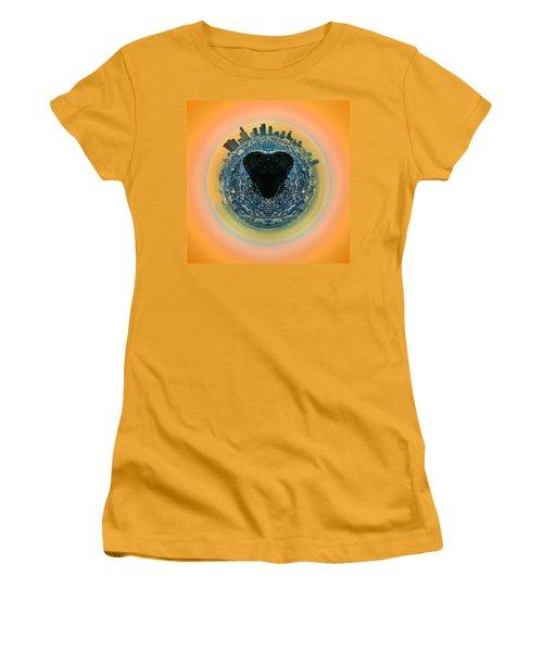 Love La Women's T-Shirt (Junior Cut) by Az Jackson
