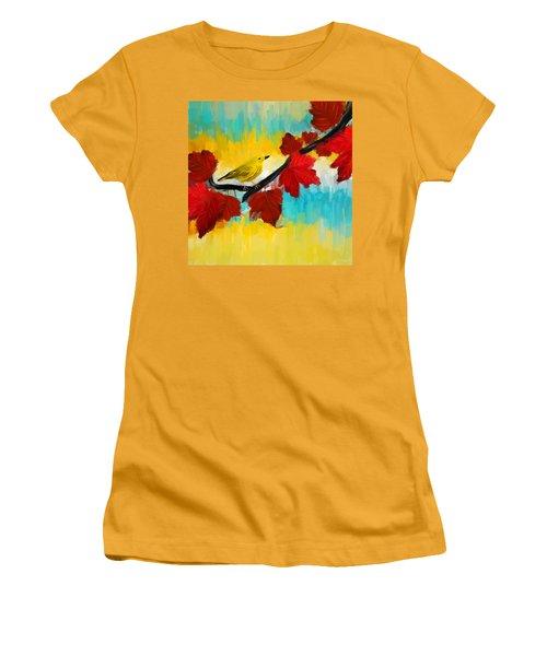 Vividness Women's T-Shirt (Junior Cut) by Lourry Legarde