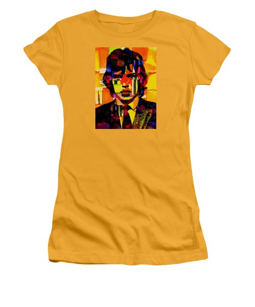 Mick Jagger Collection Women's T-Shirt (Junior Cut) by Marvin Blaine