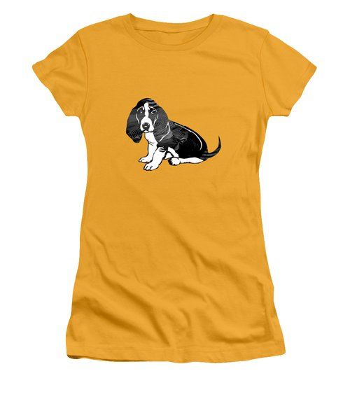 Beagle Collection Women's T-Shirt (Junior Cut) by Marvin Blaine