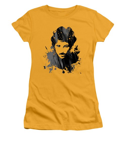 Bruce Springsteen Collection Women's T-Shirt (Junior Cut) by Marvin Blaine