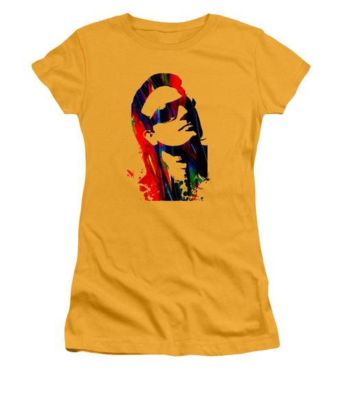 Bono Collection Women's T-Shirt (Junior Cut) by Marvin Blaine