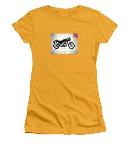 Triumph Thruxton Women's T-Shirt (Junior Cut) by Mark Rogan