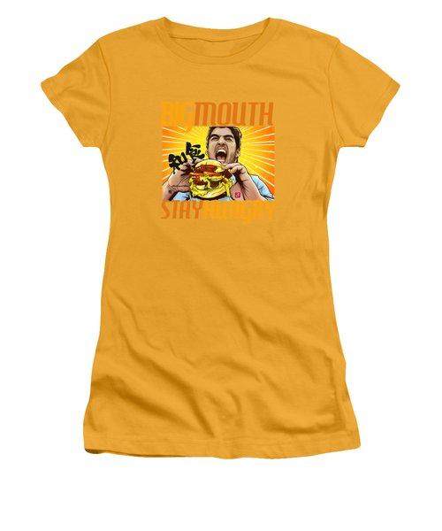 Bigmouth Women's T-Shirt (Junior Cut) by Akyanyme