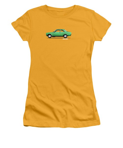 Escort Mark 1 1968 Women's T-Shirt (Junior Cut) by Mark Rogan