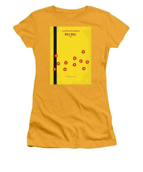 No048 My Kill Bill -part 1 Minimal Movie Poster Women's T-Shirt (Junior Cut) by Chungkong Art