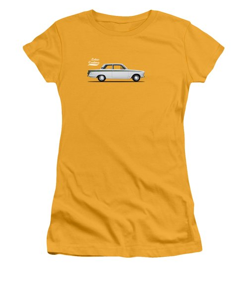 The Lotus Cortina Women's T-Shirt (Junior Cut) by Mark Rogan