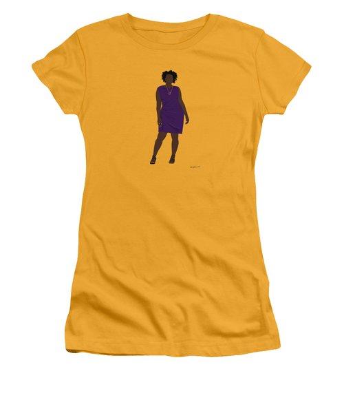 Vanessa Women's T-Shirt (Junior Cut) by Nancy Levan