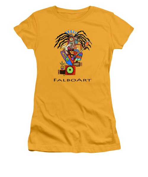 Ya Man 2 No Steel Drums Women's T-Shirt (Junior Cut) by Anthony Falbo