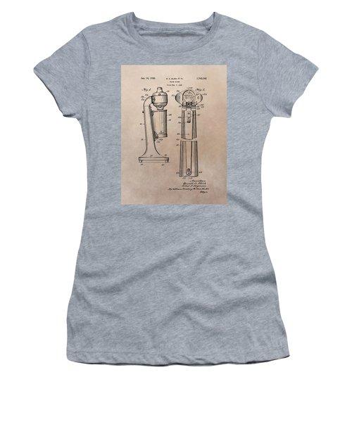 1930 Drink Mixer Patent Women's T-Shirt (Junior Cut) by Dan Sproul