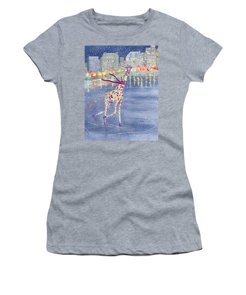 Annabelle On Ice Women's T-Shirt (Junior Cut) by Rhonda Leonard