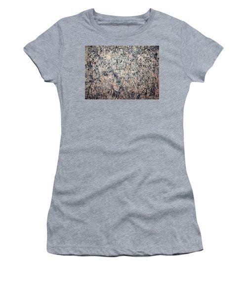 Pollock's Number 1 -- 1950 -- Lavender Mist Women's T-Shirt (Junior Cut) by Cora Wandel
