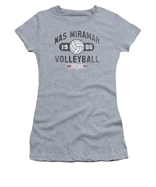 Top Gun - Nas Miramar Volleyball Women's T-Shirt (Junior Cut) by Brand A