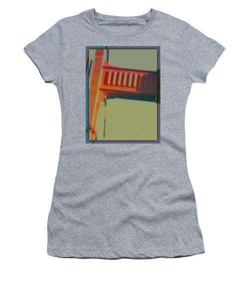 Women's T-Shirt (Junior Cut) featuring the digital art Coming In by Richard Laeton
