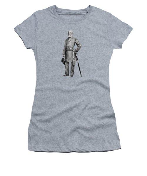 General Robert E. Lee Women's T-Shirt (Junior Cut) by War Is Hell Store
