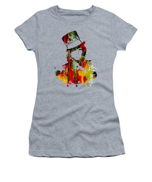 Steven Tyler Collection Women's T-Shirt (Junior Cut) by Marvin Blaine