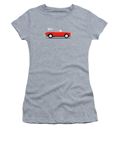 Alfa Giulia Spider 1964 Women's T-Shirt (Junior Cut) by Mark Rogan