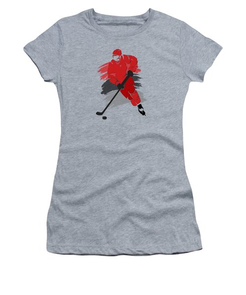 Carolina Hurricanes Player Shirt Women's T-Shirt (Junior Cut) by Joe Hamilton