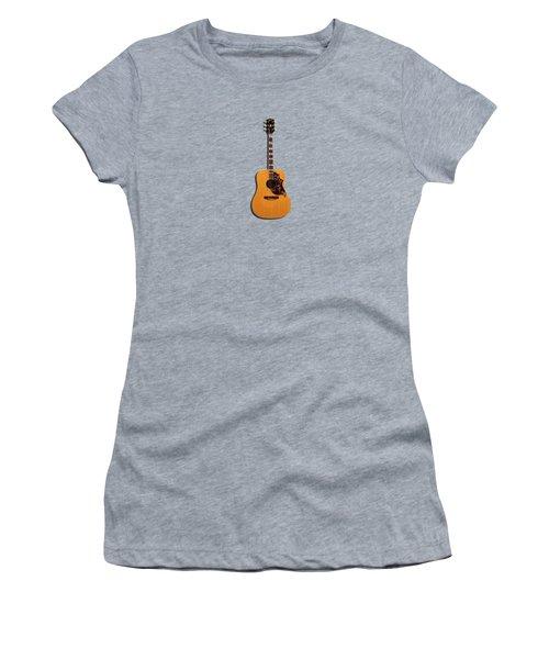 Gibson Hummingbird 1968 Women's T-Shirt (Junior Cut) by Mark Rogan