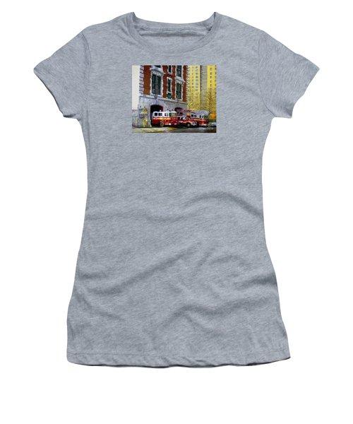 Harlem Hilton Women's T-Shirt (Junior Cut) by Paul Walsh