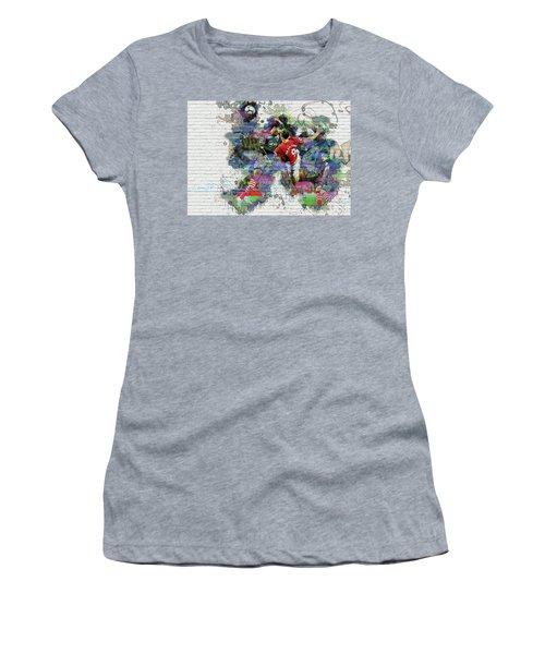 Ibrahimovic  Women's T-Shirt (Junior Cut) by Don Kuing
