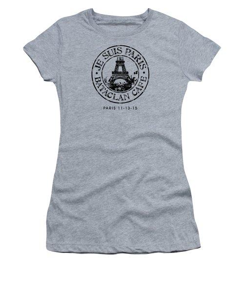 Je Suis Paris Women's T-Shirt (Junior Cut) by Gary Grayson